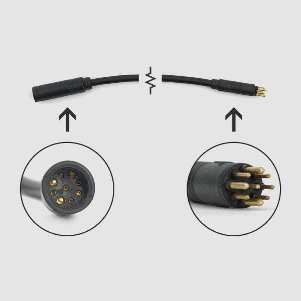 Prolongación de cable EBS IPS de 9 pines - Motor
