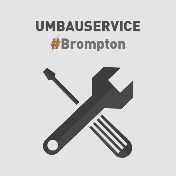 Umbauservice für Brompton-Fahrräder