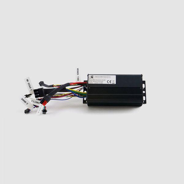 Controller programmabile EBS per motori senza sensori Hall 12 FET - fino a 48V
