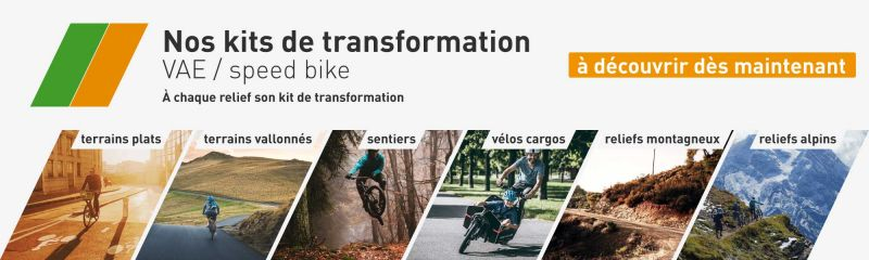 Nos kits de transformation
