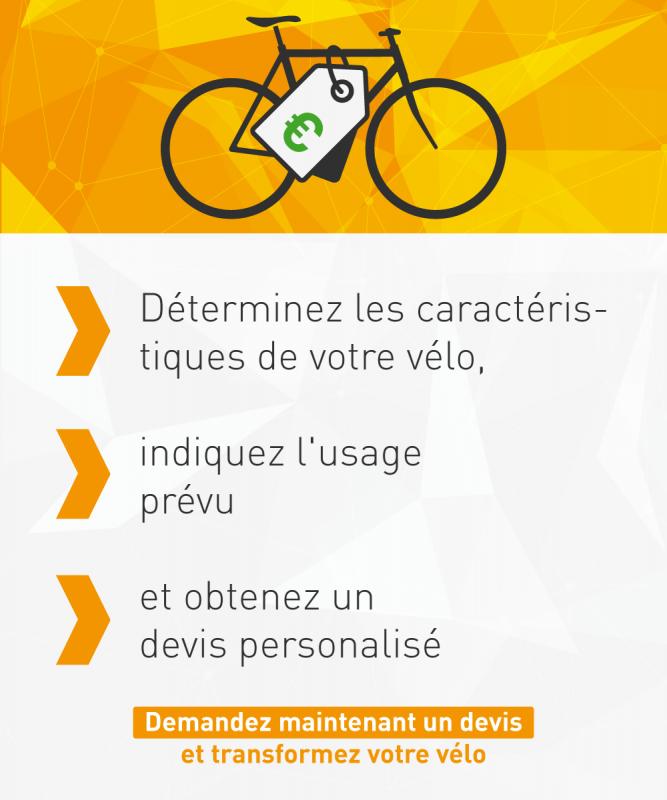 Déterminez les caractéristiques de votre vélo