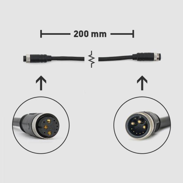 EPMS 10-Pin Verlängerungskabel, HIGO (m) & (w)