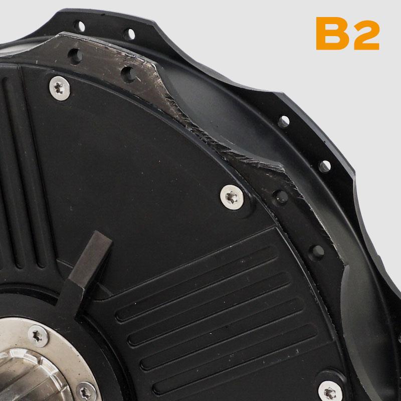 Nine Continent Motor mit Transportschaden - Beispiel aus der Kategorie B1