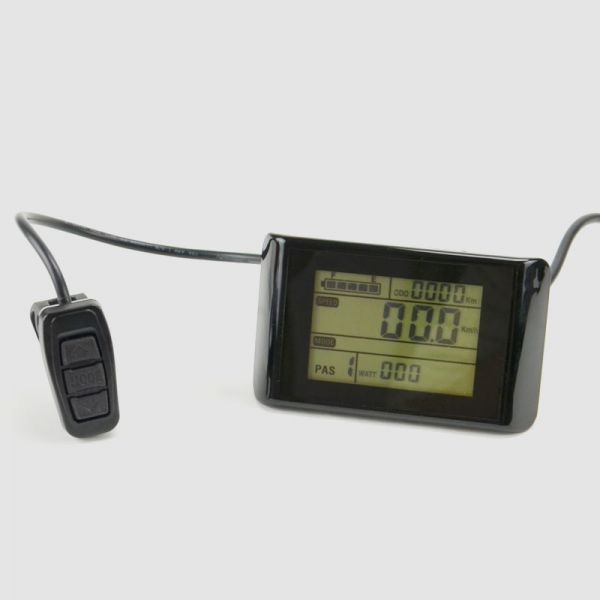 EBS IPS/IES-control display with five levels and control button - large screen