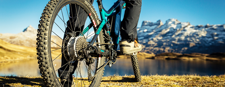 Electric bicycle: mountainbike conversion kit