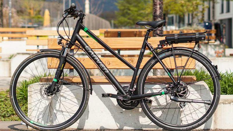 Damenrad mit EBS Climber - 250 Watt Pedelec-Umbausatz
