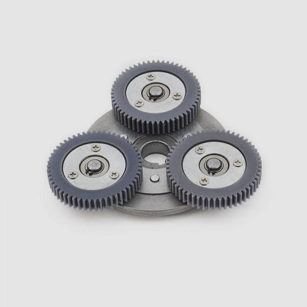 Roue libre pour Puma, BMC, eZee aux axes de12/14 mm, roues d'engrenages grises incluses
