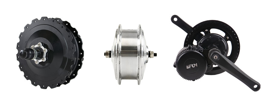 Electric motor for bicycle