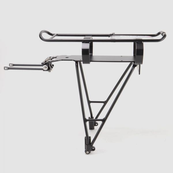 "Aluminium pannier rack for EBS Pannier Rack Batteries and 26"" to 28"" wheels"