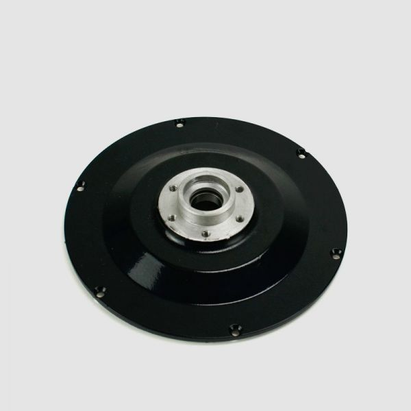 Lateral lid with discbrake mount for PUMA Rear Wheel Motors