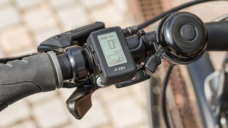 Nano Display mit Wippenfunktion zum Einstellen der Unterstützungsstufen