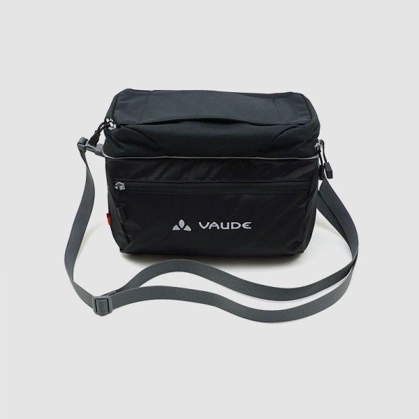 Vaude Road II negro - bolsa de manillar para el ciclismo