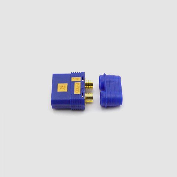 QS-8-Stecker, männlich, für Controllerseite