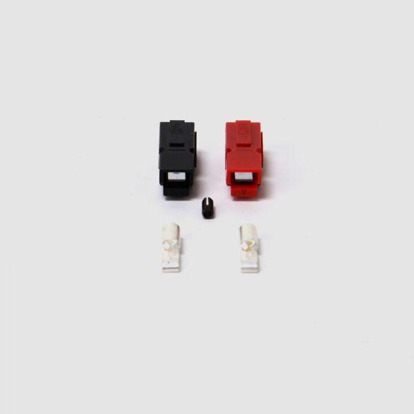 Juego de conectores Anderson® PowerPole® (10 pares: rojo, negro) - 30A