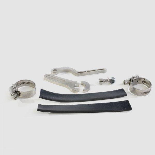Teilbare Drehmomentstütze für Hinterradmotoren mit 12 mm Achse